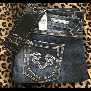 Rerock for Express 8 skinny straight leg jeans